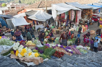 Chichicastenango - A market in the clouds