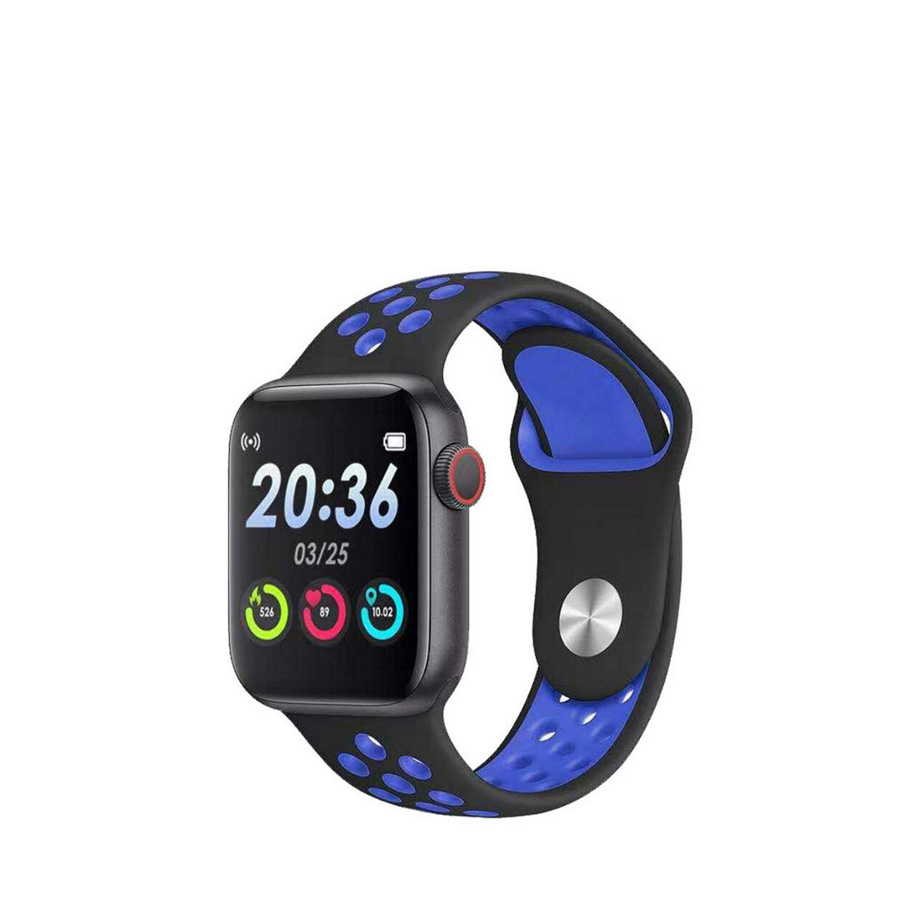 Smartwatch SGS Square Black and Blue