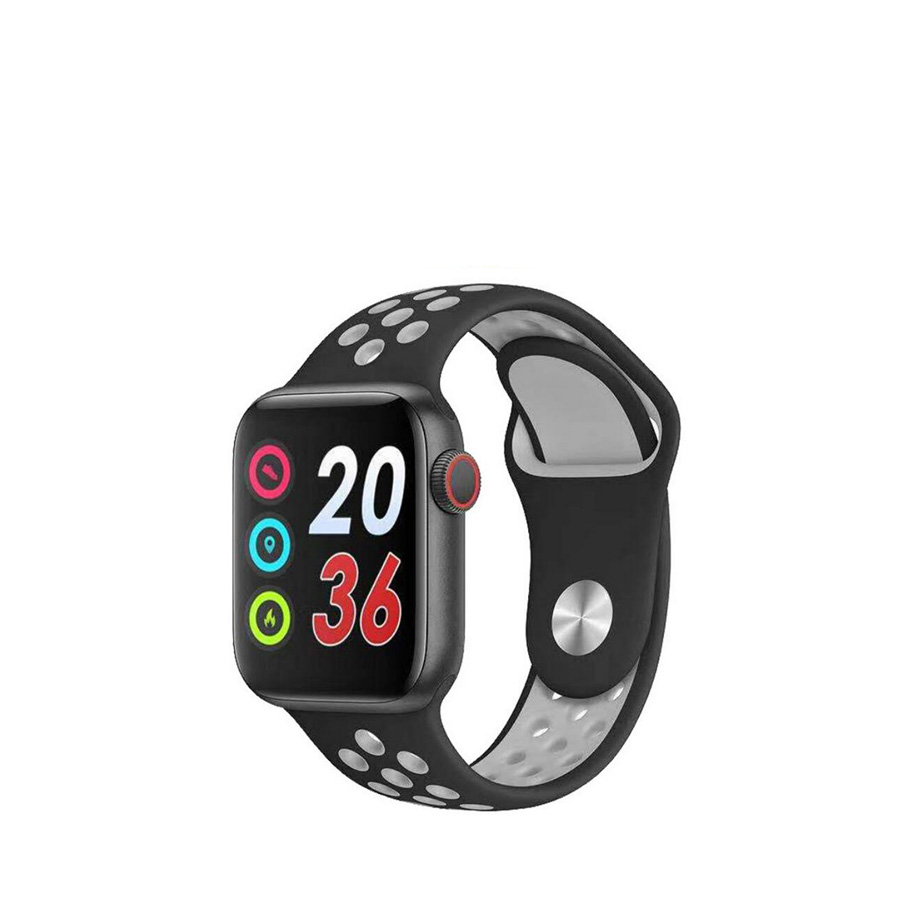 Smartwatch SGS Square Black and Grey